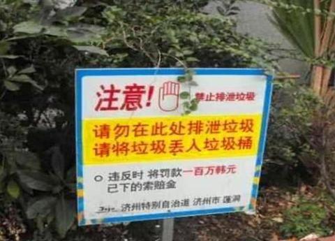 继韩国、越南之后,尼泊尔也贴出中文标语