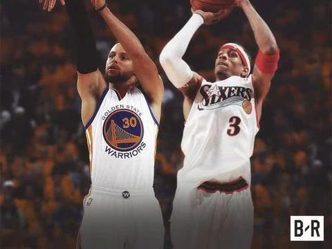 NBA总决赛:艾弗森的48分与库里的47分,失败者仅存的孤傲