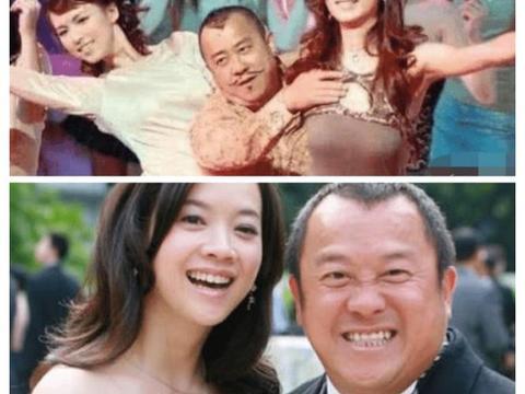 曾志伟的大女儿47岁了, 不结婚也没有孩子, 皱纹疯长越老越像老爸