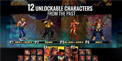 《怒之铁拳4》可用角色达到17名 知名作曲人阵容公开