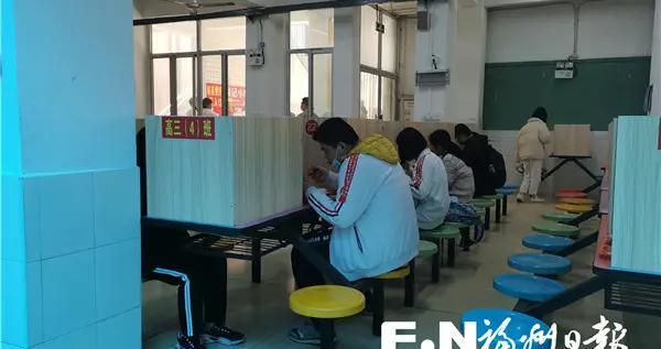 马尾复课季推动校园文明用餐