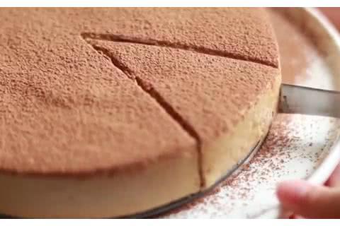 免焗咖啡慕斯冻饼,不用面粉不用烤箱,5种食材做出好吃甜蜜点心