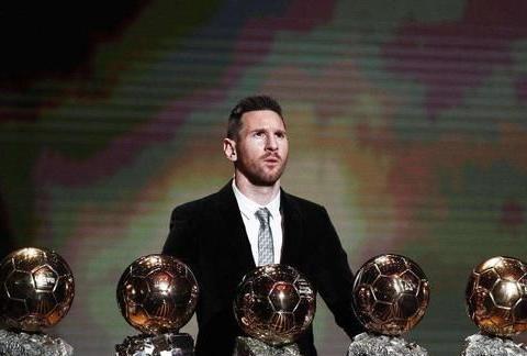 金球奖获奖最多的5位球员!梅西C罗排前两位,还有这3人榜上有名