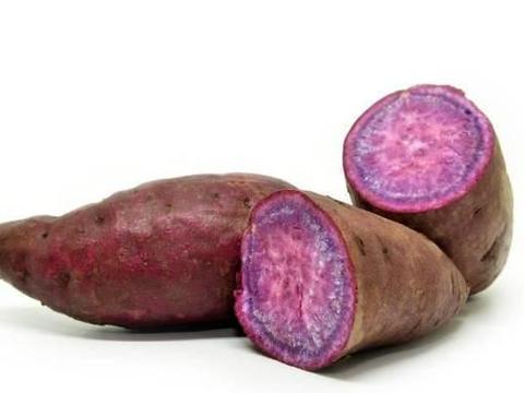 1 个紫薯加1盒牛奶,做的紫薯糯米花生饼,软糯可口方法简单易学