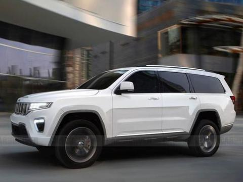 全尺寸豪华SUV 全新Jeep Grand Wagoneer假想图曝光