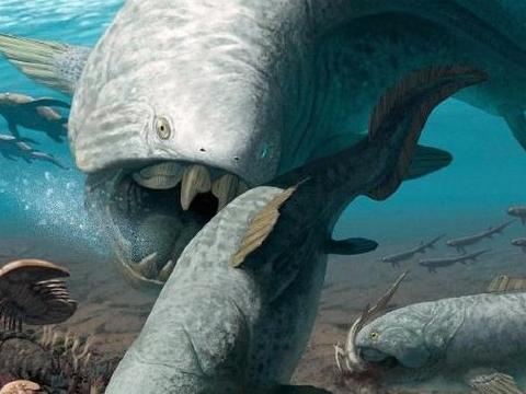 远古时期5大凶悍的史前生物,最后一种仅牙齿就约半米长