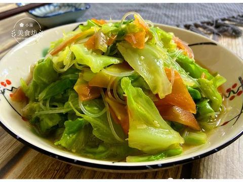 春天,包菜别炒着吃了,教你简单一做,少油低热量,比吃肉还过瘾