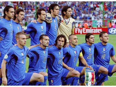 2006德国世界杯记忆:黄金一代谢幕,意大利足球凭什么能夺冠?