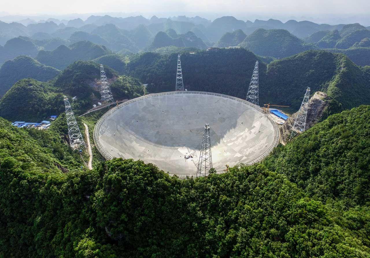 寻找外星人,这台世界最大望远镜能做点什么?