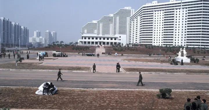 彩色老照片:实拍80年代的朝鲜,比当时的韩国发展水平高