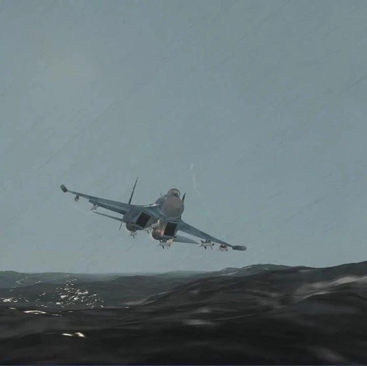 战争模拟 | 北约军舰干扰导致苏27坠机?双方各执一词,那真相是什么?