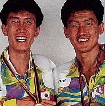 世界羽坛最佳男双之一 朴柱奉和金文秀