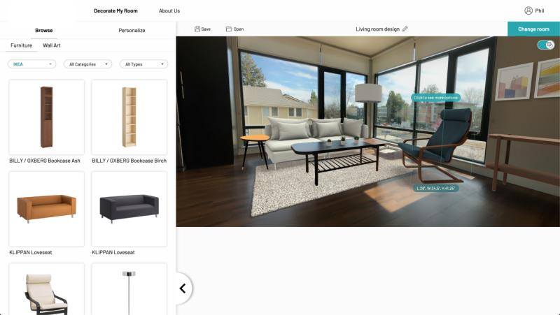 IKEA收购计算机视觉、AR公司Geomagical,以提升移动AR体验