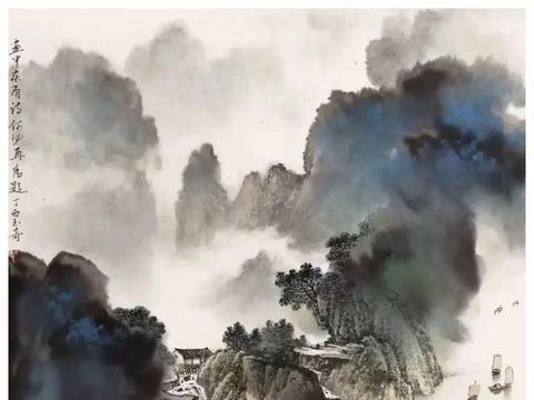 新金陵画派的绝响——佘玉奇的山水画解读