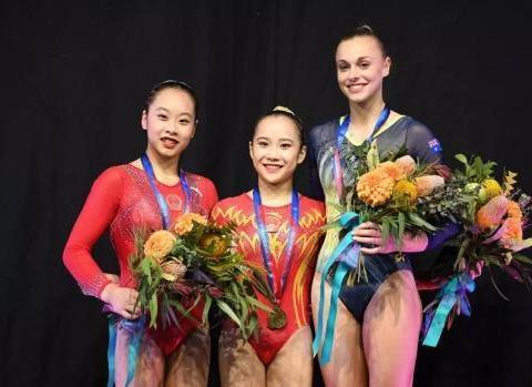 她是中国女子体操新星,16岁成世界冠军范,如今21岁美翻了