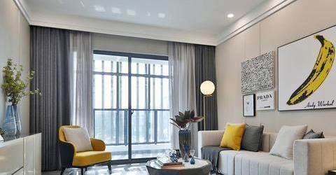 太不敢相信了79平三居室,全包花了10万,还是现代风格!
