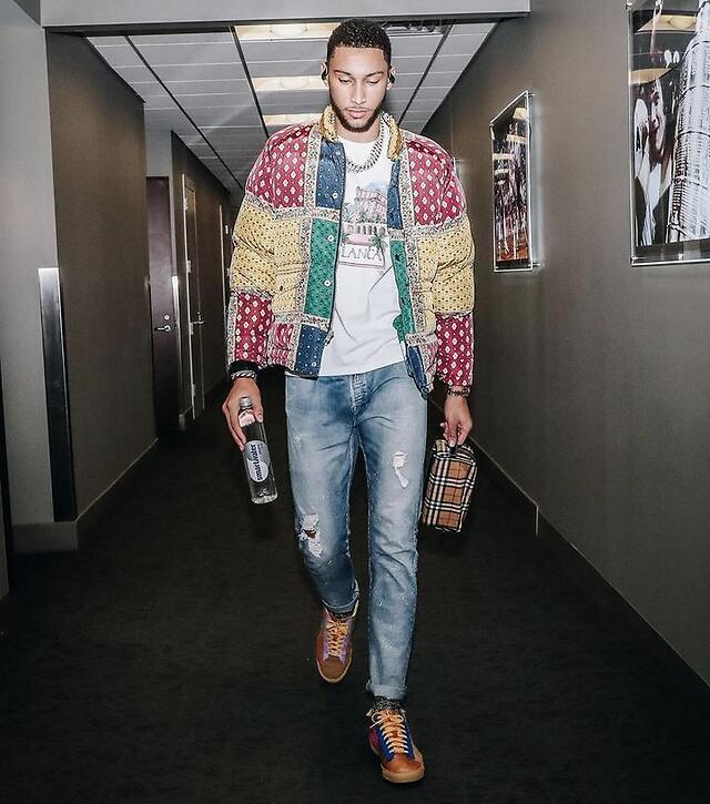 费城双帝之一,NBA第一高控卫——本-西蒙斯