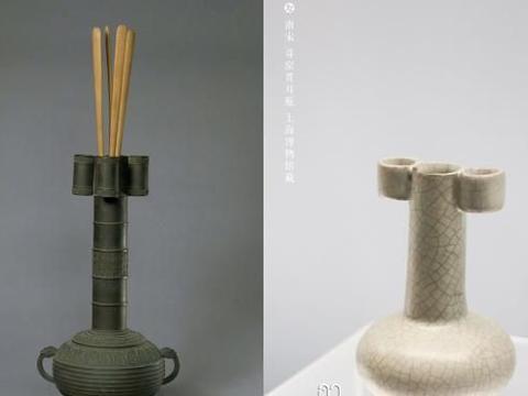 从南宋官窑弦纹瓶——漫谈宋代皇室的的稽古维新
