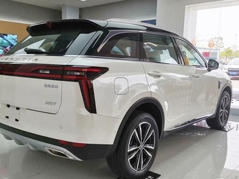 A+级SUV头等舱,启辰星山东日照实车到店,预售11-15万