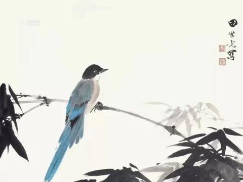宽广意境间凸显活力,田世光的花鸟画,典雅又恢宏
