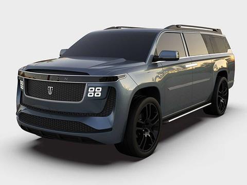 续航高达1126公里 小众纯电大型SUV Triton Model H发布