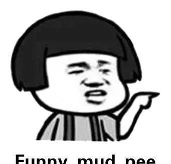 """继""""喜大普奔""""等新网络词后,中式英文funny mud pee走红"""