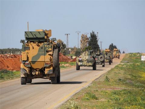 M4高速公路遭到围堵,土耳其2名士兵被袭身亡,伊德利卜局势失控