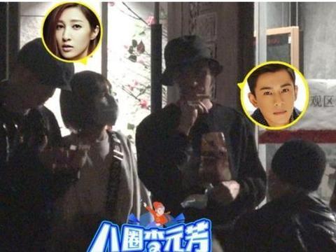 乔振宇与爱妻现身,一同参加朋友聚会,王倩一被友人亲密抱头