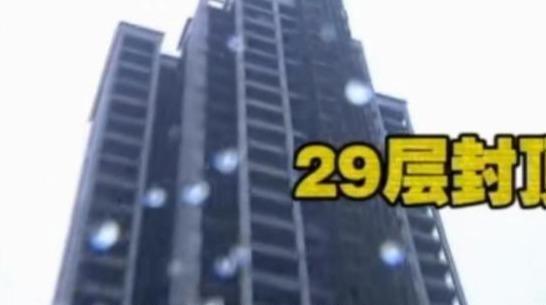 花30几万买房,开发商修到29楼封顶了,业主:我们买的32层