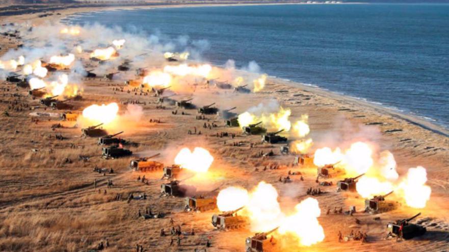 导弹会取代火炮吗?这一战役半小时45万发炮弹,看看啥是毁天灭地