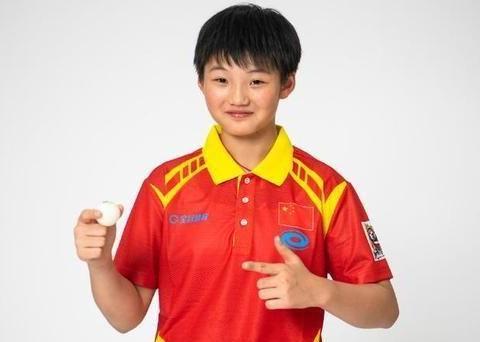 乒乓球少儿选手 12岁埃及女孩成世界第一 日本有张本美和 中国呢