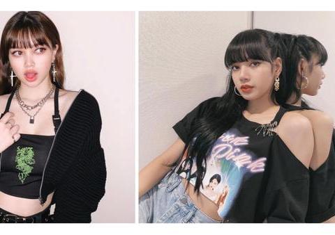 与BLACKPINK Lisa撞脸被骂,18岁网红卸妆霸气回应:只想做自己