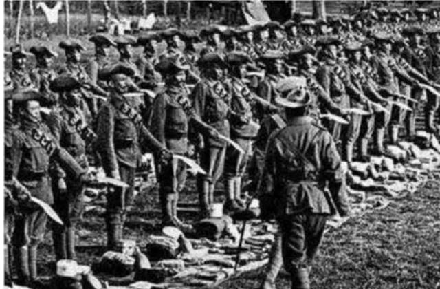历史上最悲催的部队,奔赴前线作战却迷路了,都成了中国人