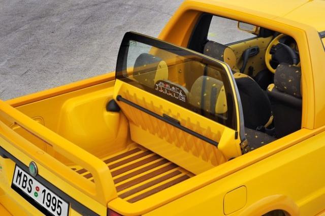 90年代推出的时尚商用车 斯柯达做的皮卡知道吗?