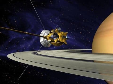 """曾经的""""英雄""""探测器""""卡西尼""""号与它的土星之旅!"""