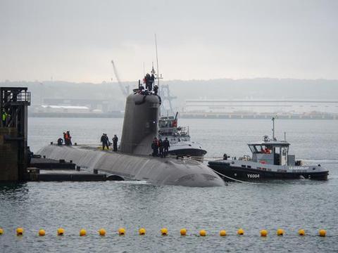 法国最新核潜艇开始试航!建造长达13年,一技术领先于093B