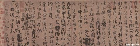从北宋到清朝,《祭侄文稿》印满题跋,被历代帝王文人所藏