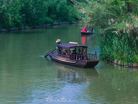 """溱湖国家湿地公园,泰州旅游必打卡,拥有着""""麋鹿故乡""""之称"""