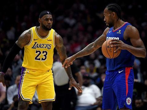 若NBA季后赛首次上演洛城德比?韦斯特:那将会是篮球的盛事