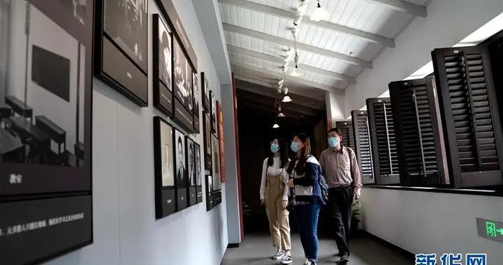 走进中国社会主义青年团中央机关旧址
