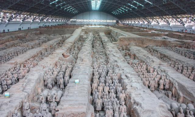 西安秦始皇陵兵马俑,四大未解之谜埋藏千年,至今无解
