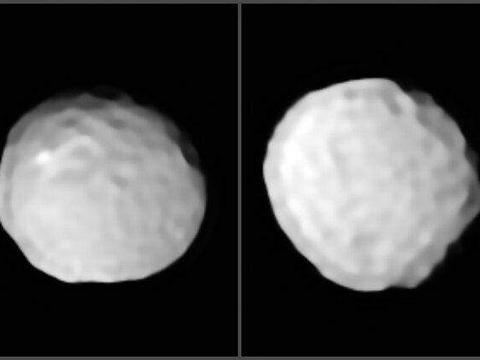 第三大小行星智神星,最新观测图像,巨大数量撞击坑的成因为何?