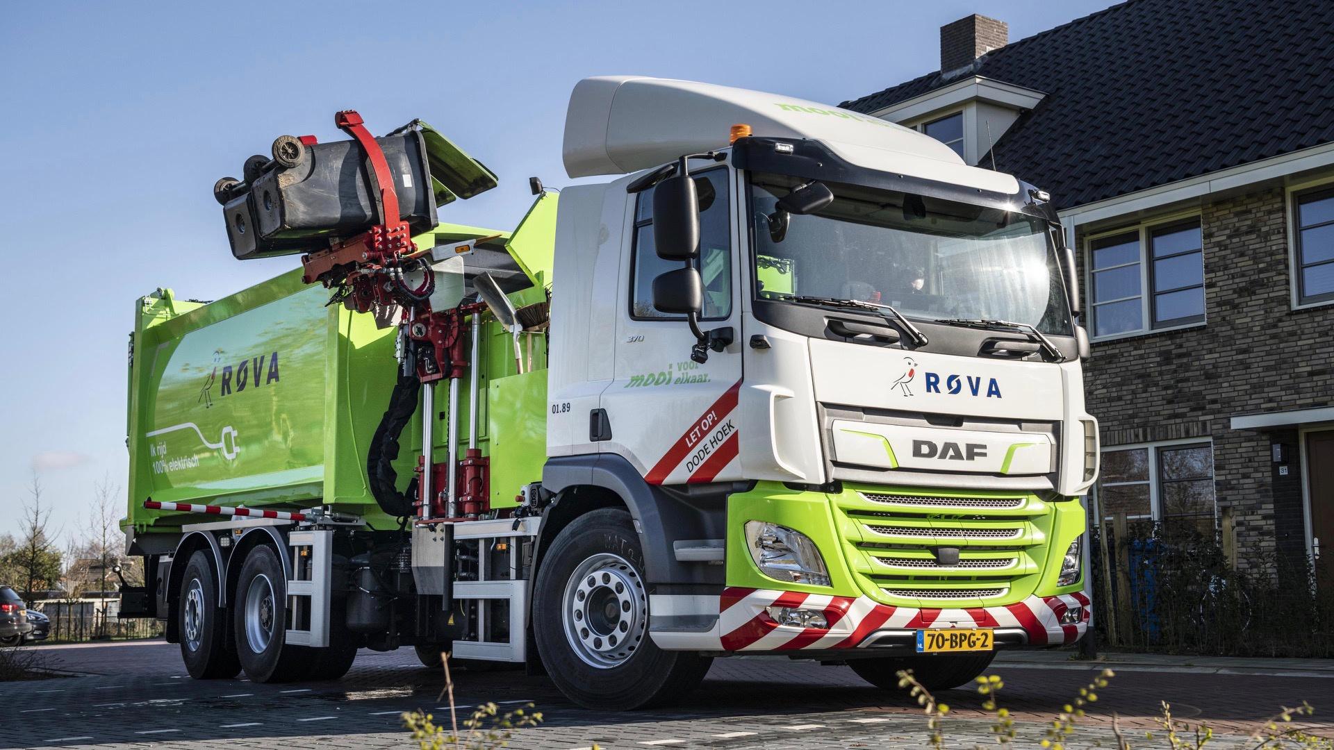 纯电动垃圾车已在荷兰接受测试