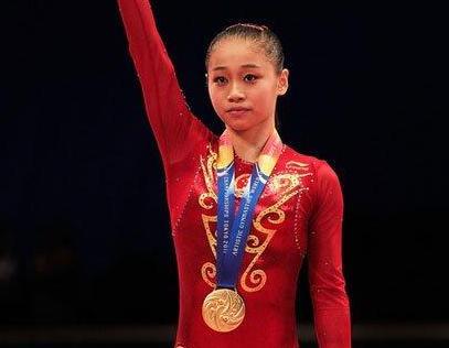 体操世界冠军眭禄退役后,远赴贫困山区支教,今二次发育成女神