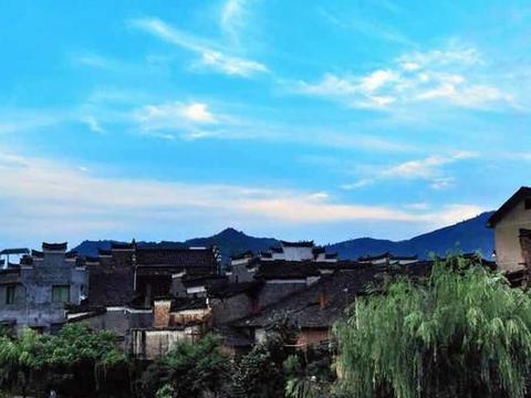 浙江廿八都古镇,以数字命名的古镇