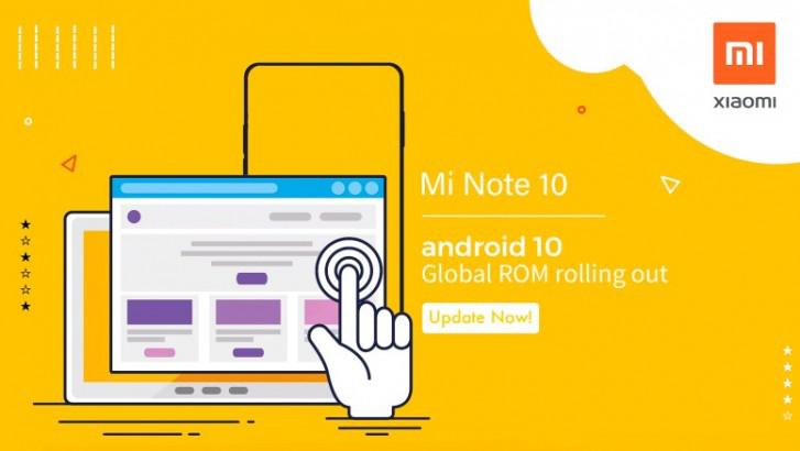小米Note10喜迎Android10系统更新
