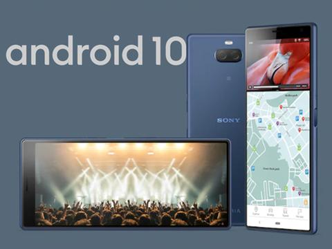 索尼两款手机获得Android10系统推送