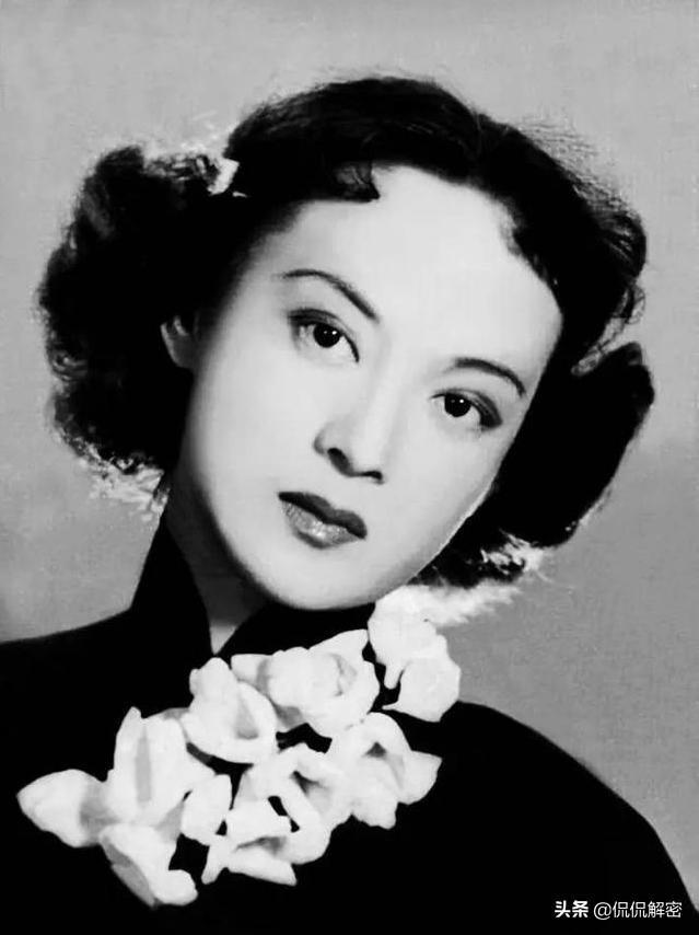 """曾被称为""""50年代最漂亮女演员""""王丹凤真的美吗?老照片见证玄机"""