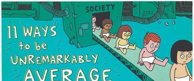一组发人深省的英文漫画