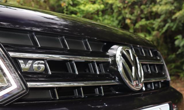 复杂路况下试驾大众Amarok V6 Black Edition限量版感受如何